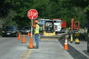 Car Accidents near Construction Zone